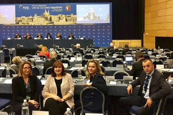 """Future of Europe"" Kongres Malta -'Europe secures our Future' Adopted at the EPP Congress, Malta, 29 - 30 March 2017"